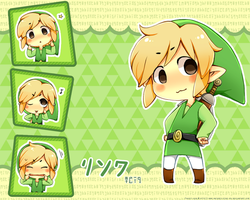 .: WW Link Wallpaper :. by Radical-Rhombus-XD