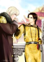 APH-meetion in 17th century by snowhaven