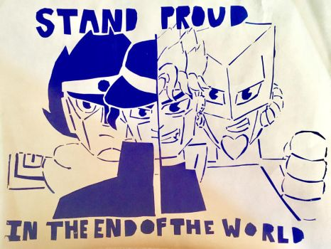Stand proud in the end of the world by flamestar1031