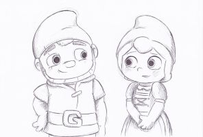 Gnomeo and Juliet by LeniProduction