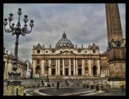 St. Peter's Basilica by ArtClem