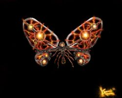 Ionic Butterfly by Eckko