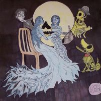 Corpse Bride All Is Vanity 2 by InvisibleCorpseGirl