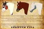 The American Clay Horse -Tokotem Face- by 11IceDragon11