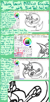 Tutorial - Smooth Lines to MSPaint Friendly in Sai by Taiinty