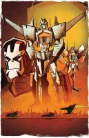 The Reckoning - Botcon 2014 print by dcjosh