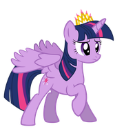 Princess Twilight Sparkle by Roze23