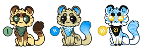 small adoptables || 1 || open by hopscotched