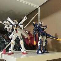 Crossbone and F91 by GVK2010