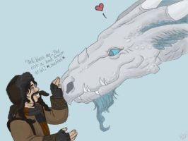BirthdayGift:EleEstel: Galavern and Bofur Meet by TheLastUnicorn1985