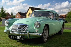 1959 MG A by FurLined
