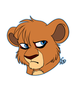 chibi headshot for Kopaa by Miss-Melis