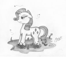 Dirty Rarity by MoonlightScribe