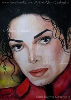 LOVE LIGHT IN YOUR EYES - Michael Jackson by AlenaGalayko