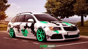 Skoda SuperB Combi by x-tomi