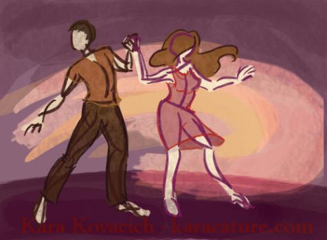 rythm of two by karacature