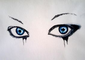 Eyes- Acrylic Paints by DoktorekPL