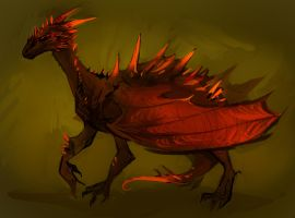 Dragonnn by znodden