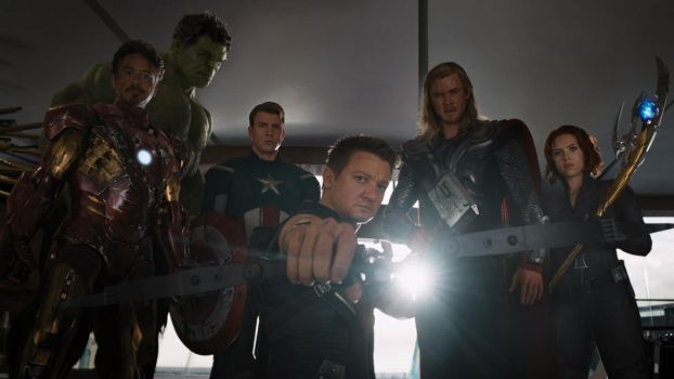 The Avengers by ciccio91gow