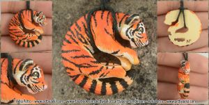 Tiger Necklace by Chaotica-I