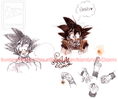 Goku by IwannaPissInYourBed