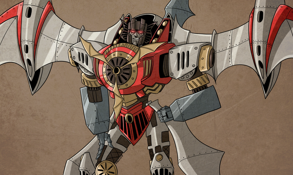 Hearts of Steel Starscream by Kriegswaffle