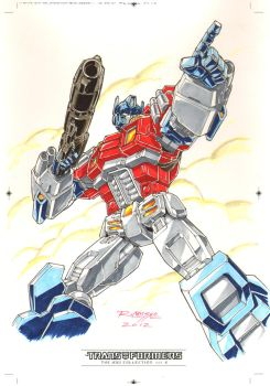 Optimus Prime #1 for Transformers IDW Limited V. 2 by REX-203