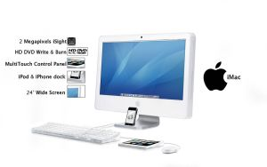 Brand new iMac for 2008 by i-visual