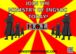 Join the Ministry Of Ingsoc by DurandalAI42