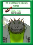 Don't Ask Me: Wally or Raawg by Lisaurian