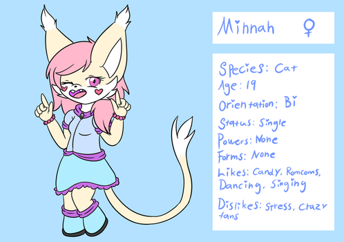 Minnah Reference by LinaFennec
