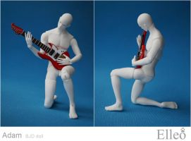 Adam guitar 03 by leo3dmodels