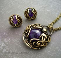 VIOLETS SET by KL-WireDream