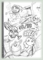 Series of sketches 2010 - 1 by fuzzy-fnr