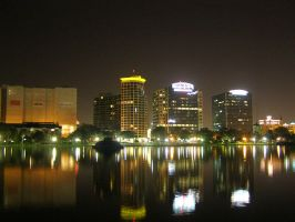 Lake Eola by ericr33914