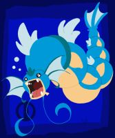 Super Chibi Gyarados by Turtle-Arts