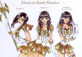 Element Earth-New Styles by Cat-with-dark-eyes