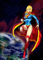 SuperGirl by Madboy-Art