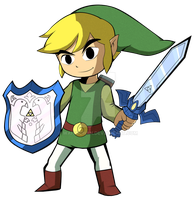 Toon Link by Waito-chan