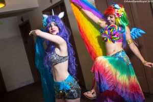 New York Comic Con 2015 - Belly Prancers'(PS) 27 by VideoGameStupid