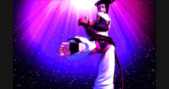Juri Han is Ready to Strike! by AweSSoMe