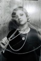 Self-Portrait with Pearls by StolenSecrets
