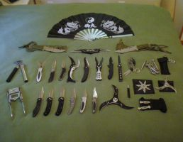 Knife Collection - Tier One by A-New-Lesson
