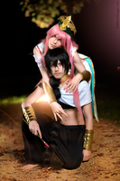 Kouha And Judal Cosplay - Fatal Duo by DakunCosplay