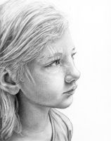 'Clementine in Graphite' by MichaelShapcott