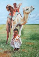 camel of baby by amir-gallery