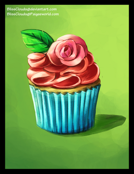 Cupcake Practice by BlissClouds
