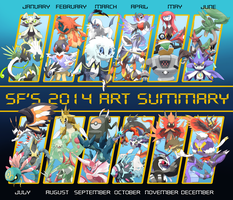 SF's 2014 Art Summary