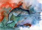 Gnarly Narwhal by xxpoochiexx