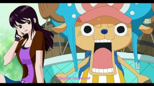 One Piece Fake screenshot - Margo and Chopper by MargothMegurine